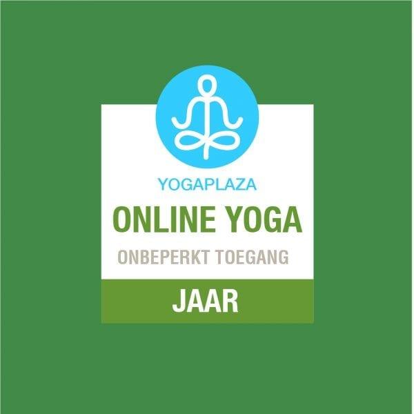 Online Yoga Onbeperkt 1 jaar