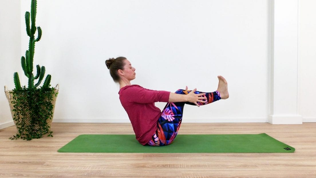 yoga work-out benen
