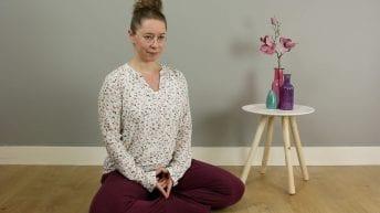 Meditatie Hoofd Balanceren