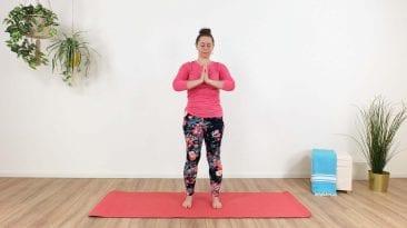 Yoga bij te veel energie