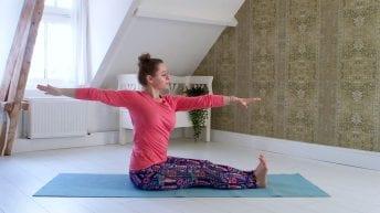 Yoga voor de onderrug yogaplaza